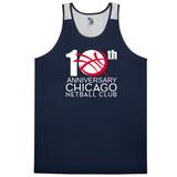 Chicago Netball Anniversary Ventback Singlet