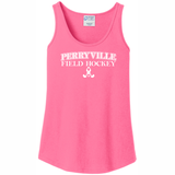 Perryville Field Hockey Tank Top, Pink