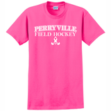 Perryville Field Hockey Cotton Tee, Pink