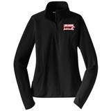 Linganore Lancers FH 1/2-Zip PolyStretch Pullover, Black