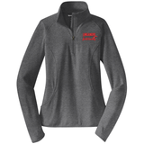 Linganore Lancers FH 1/2-Zip PolyStretch Pullover, Charcoal