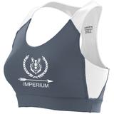 Imperium Sports Bra, Graphite/White