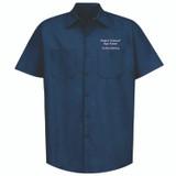 Harford Technical HS Short-Sleeve Work Shirt for Welding