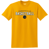 Perryville MS Basketball SHORT Sleeve Tee, Gold