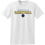 Perryville MS Basketball SHORT Sleeve Tee, White