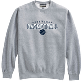 Perryville MS Basketball Crewneck Sweatshirt, Gray