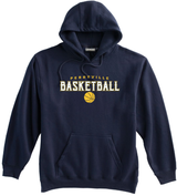 Perryville MS Basketball Hooded Sweatshirt, Navy