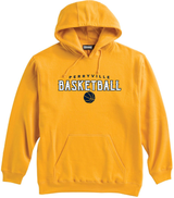 Perryville MS Basketball Hooded Sweatshirt, Gold