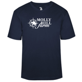 Molly Hill Farm V-Neck Performance Tee