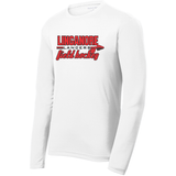 Linganore Lancers FH Long Sleeve Performance Tee, White