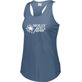 Molly Hill Farm Girls Triblend Racerback Tank