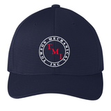 TMI Grid-Texture FlexFit Hat, Navy