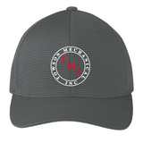 TMI Grid-Texture FlexFit Hat, Graphite