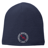 TMI Fleece-Lined Beanie, Navy