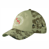 TMI Adjustable Digi Camo Hat