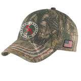 TMI Adjustable Americana Camo Hat