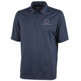 TMI Heathered Performance Polo