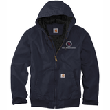 TMI Carhartt Duck Canvas Active Jacket, Navy