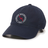 TMI Adjustable Twill Hat, Navy