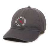 TMI Adjustable Twill Hat, Charcoal