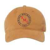 TMI Adjustable Cotton Canvas Hat, Wheat