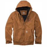 TMI Carhartt Duck Canvas Active Jacket, Brown