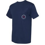 TMI Pocketed Tee, Navy