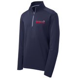 Mavericks Wrestling Textured 1/4-Zip Pullover