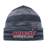 Mavericks Wrestling On-Field Knit Beanie, Navy