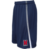 Mavericks Wrestling Gradient Stripe Gym Short