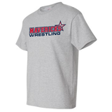 Mavericks Wrestling Tee, Gray