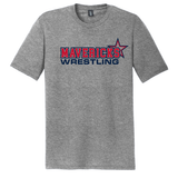 Mavericks Wrestling Triblend Tee, Gray