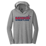 Mavericks Wrestling LS Hooded Tee, Gray