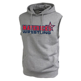 Mavericks Wrestling Sleeveless Hoodie, Gray
