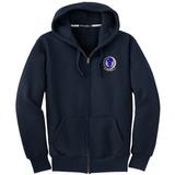818 MSAS Full-Zip Heavyweight Hoodie, Navy