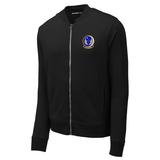 818 MSAS Lightweight Fleece Bomber, Black