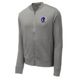 818 MSAS Lightweight Fleece Bomber, Gray