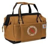 "TMI Carhartt® Foundry Series 14"" Tool Bag, Brown"