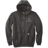 TMI Full-Zip Carhartt Hoodie, Carbon Gray
