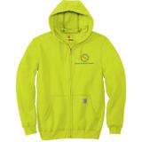 TMI Full-Zip Carhartt Hoodie, Safety Green