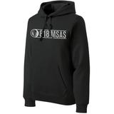 818 MSAS Midweight Hoodie, Black