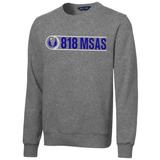 818 MSAS Crewneck Sweatshirt, Gray