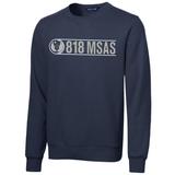 818 MSAS Crewneck Sweatshirt, Navy