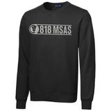818 MSAS Crewneck Sweatshirt, Black