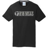818 MSAS Blend Tee, Black