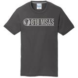 818 MSAS Blend Tee, Charcoal