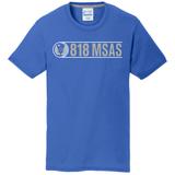 818 MSAS Blend Tee, Royal