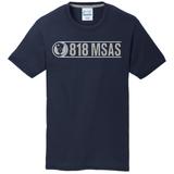 818 MSAS Blend Tee, Navy
