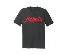 Rebels FH Triblend Tee, Heathered Black