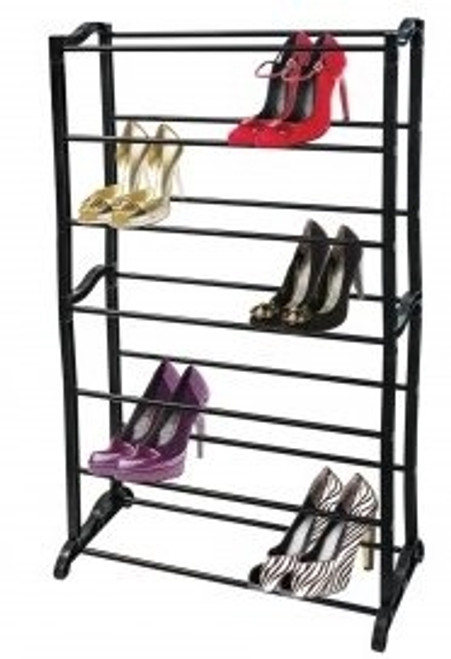 21 Pair Shoe Rack Organizer Portable Shelv Closet Room Storage Tower Shelves KOL8 OF872